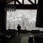 冬季休館中のホテルでミーティング。稀有で贅沢な体験。 #雪 #星野リゾート #snow