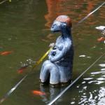 そしたらカッパを発見!。 #八戸 #櫛引八幡宮 #かっぱ #河童