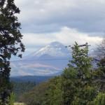 今朝、山に雪が。冬ですね。 #初雪 #八甲田山