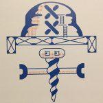 最後です、サブグラフィックエレメント『学』 #八戸工場大学 #サブグラフィックエレメント #外観 #ロボ #八戸 #jitozu
